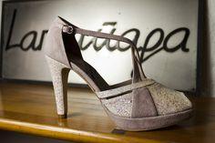 #peeptoe en #fantasia y #ante #platformpumps #shoes #peeptoes #zapatos #fiesta #party #style #look #madeinspain #moda #fashion www.jorgelarranaga.com
