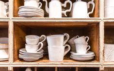 Astier de Villatte Ceramics - The Beauty of Imperfection Ceramic Shop, Ceramic Decor, Concept Shop, Paris Shopping, Im Not Perfect, Plates, Ceramics, Traditional, Mugs