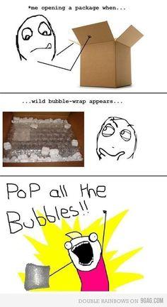 Must pop the bubble-wrap!