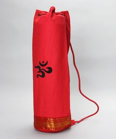 Take a look at this Red Mahayogi Mat Bag by OMSutra on  zulily today! 3e1e527597924