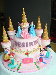 Princess Castle Cake Photo:  This Photo was uploaded by ybake88. Find other Princess Castle Cake pictures and photos or upload your own with Photobucket ...