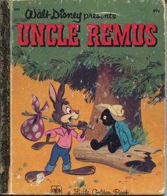 WALT DISNEY PRESENTS UNCLE REMUS BY MARION PALMER 1975 - Little Golden Book