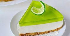 Další nepečená nádhernost! Jemný tvaroh se sušenkovou vrstvou a limetkovým želé tvoří osvěžující kombinaci jako stvořenou pro zahradní párty. Pro fanoušky nepřeslazených dezertů. Ingredience 200 g sušenek 500 g zakysané smetany 100 g másla 150 g krémového sýra 120 g cukru 10 g želatiny 10 g vanilkového cukru limetka nebo citrón balíček želé příchuť Kiwi ...