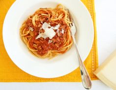 Spaghetti Bolognese - this one's beautiful!