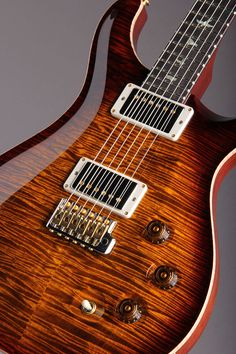 Paul Reed Smith Wood Library Japan Limited DGT Brazilian Rosewood Fingerboard Black Gold Burst