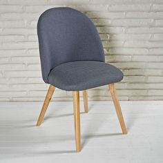 Polsterstuhl Esszimmerstuhl, Holzbeine, überzeugt Durch Modernen Look Und  Hohen Sitzkomfort