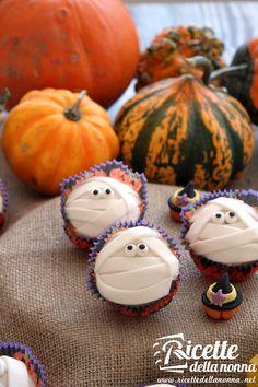 Muffin Mummie di Halloween