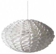Mid Century Modern Interiors  csnstores.com  Normann Copenhagen Norm 03 Lamp  Price: $134.00 | VisitStore»  Uploaded by Chic Coles  Another inexpensive option for a hanging chandelier. Light material and fun design make it ideal for a children's room.