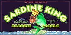 Vintage California Sardine Can Labels Design Awards, Design Trends, Kids Sports Party, Vintage Recipes, Vintage Food, Vintage California, Creativity And Innovation, Food Pictures, Food Pics