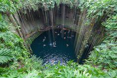La Riviera Maya au Mexique, petit paradis sur Terre – blog lysbooking - Cenote Ik-kil Photo de fotoshane sur Flickr