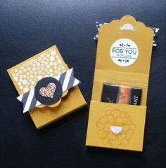 Stampin Up swaps: tag topper punch, banner punch