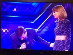 Taylor on the X Factor UK!