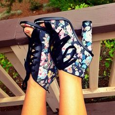 Brandace in the #ShoeCult Spring Fever Zuri Bootie    Get the booties: http://www.nastygal.com/product/552de66a-a08a-4f95-bb80-5a1d63d71615?utm_source=pinterest&utm_medium=smm&utm_term=ngdib&utm_content=the_cult&utm_campaign=pinterest_nastygal