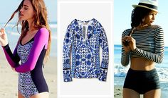 Swimsuit Style Guide - Long Sleeve Top