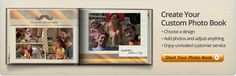 Mixbook works in the same way as Shutterfly. I haven't tried it yet, but the layouts are nice.