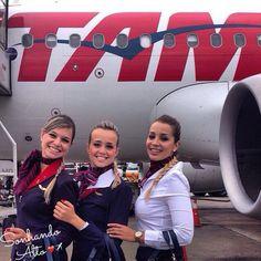 """""""O destino não é uma questão de sorte, é uma questão de escolha."""" Comissária Fernanda Vasconcellos ❤️✈️ #crewlife #future #flightattendant  #aeromoças #stewardess #aeromoça #voar #comissáriasdebordo #comissárias #latam #fly #revistatripulante #aero #tripulantes #tam #flyaway #aviacaocms #tamlinhasaereas #paixaoporvoareservir #comissáriasdevoo"""