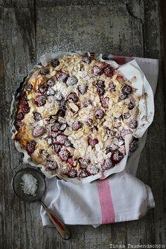Himbeer Mandelkuchen! Lecker auch glutenfrei :)