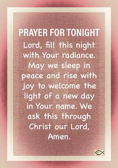 Good Night Prayer Quotes, Prayer For Love, Prayer Of Thanks, Bedtime Prayer, Evening Prayer, Jesus Prayer, Play Sets, Praying To God, Blessings