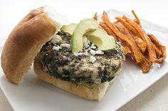 Skinny Mom Recipe: Cranberry and Feta Turkey Burgers
