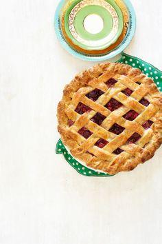 Cherry-Amaretto Pie Recipe