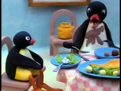 Pingu is a British-Swiss stop-motion clay animated children's comedy television series created by Otmar Gutmann and produced from 1986 to 2000 for Swiss tele. Pingu Memes, Fireman Sam, Tv Series Online, Popular Videos, Kids Shows, Stop Motion, 4 Kids, Reaction Pictures, Penguin