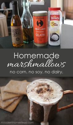 I've used these Homemade Marshmallows for everything from plain old hot chocolate, to s'mores, sweet potato casserole, and even as a filling in homemade candies. Find out how easy Homemade Marshmallows can be!