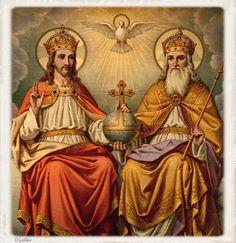 Santa María, Madre de Dios y Madre nuestra: Fiesta de la Santisima Trinidad 1 de Junio