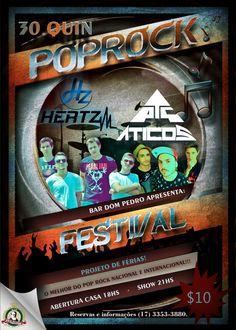 Quinta tem show da @BandaAticos no Bar Dom Pedro junto com a #Hertz http://www.bardompedro.com.br #Aticos #Hertz #RioPreto