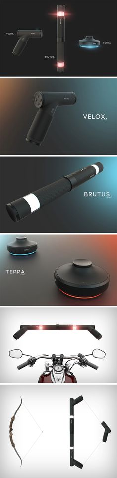 """Designed for separate purposes, the Velox, Brutus, and Terra make rather useful gaming controllers for various scenarios. However, things get interesting when they pair up, allowing you to make more complex instruments of gaming. The EXEO is the next in the series of """"things made modular"""". All modules smartly fit into one another, recognizing what they're being crafted into when you plug them together."""