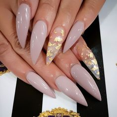 A manicure is a cosmetic elegance therapy for the finger nails and hands. A manicure could deal with just the hands, just the nails, or Gorgeous Nails, Pretty Nails, Hair And Nails, My Nails, Pink Nails, Crazy Nails, Black Nails, Long Stiletto Nails, Stiletto Nail Designs