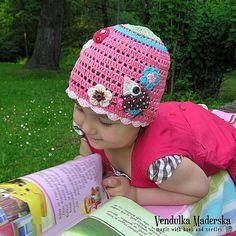 Crochet hat pdf pattern.  $5.30 for pattern 6/14.