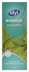 Idyl Huismerk Badolie Eucalyptus 100ml  Zorgt voor een verfrissende geurbeleving.GebruikVoeg naar behoefte badolie toe aan het stromende water van ca. 36-38 graden Celsius. Bad na gebruik goed naspoelen om uitglijden te voorkomen.  EUR 3.85  Meer informatie  http://ift.tt/2kFJljZ #drogist