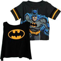"DC Comics Boys Batman ""Caped Crusader"" T-Shirt with Cape Set, http://www.amazon.com/dp/B00ESJ26OC/ref=cm_sw_r_pi_awdm_TR7htb0PH4W7W"