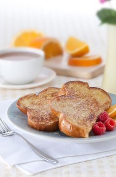 """Orange French Toast – Nothing says """"I love you"""" quite like breakfast in bed…"""