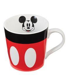 Loving this Mickey Mouse 12-Oz. Ceramic Mug on #zulily! #zulilyfinds