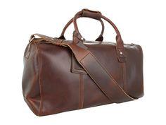 Nixon Aft Weekender Carolina Brown Leather