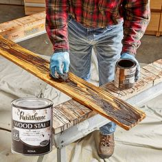 Make your own barn wood with these 9 easy steps! Varathane Wood Stain, Barn Wood Projects, Aging Wood, Wood Trim, Weathered Wood, How To Distress Wood, Woodworking Crafts, Woodworking Videos, Wood Furniture
