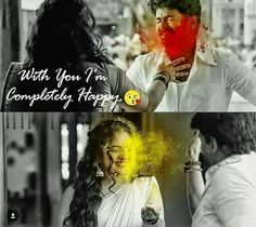 Movie Love Quotes, Like Quotes, Couple Quotes, Love Quotes For Him, South Quotes, Filmy Quotes, Tamil Love Quotes, Vijay Actor, Crush Love