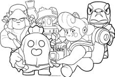 Desenhos de Brawl Stars para colorir Profile Wallpaper, Cartoon Coloring Pages, Graffiti, Star Pictures, Star Art, Dark Souls, Antiques, Painting, Free Kids Coloring Pages