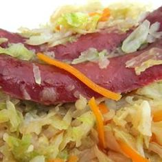 Fried Cabbage with Bacon -- You have no IDEA how GOOD this is!!
