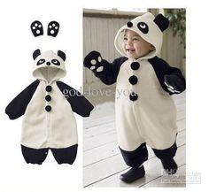 Too freaking cute! Panda Costumes, Baby Costumes, Twin Babies, Cute Babies, Winter Outfits, Kids Outfits, Baby Outfits, Twin Baby Clothes, Rompers For Kids