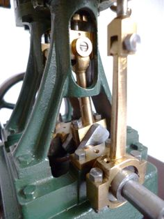 Stuart Turner Double 10 Live Steam Engine - eccentric and bearing block view   eBay