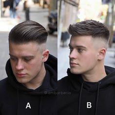 Hairstyle Ideas For Men mens haircuts fade taper mens haircuts, fade most popular mens haircuts fade Popular Mens Haircuts, Best Short Haircuts, Cool Haircuts, Haircuts For Men, Mens Hairstyles Fade, Barber Haircuts, Faded Hair, Slicked Back Hair, Long Hair Cuts