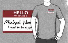 "Nametag Parody: Burn Notice - ""My Name Is Michael Westen"""