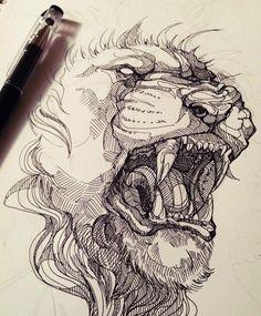 King of beasts by WolfSkullJack.deviantart.com on @deviantART
