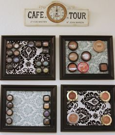Ideas display makeup storage ideas magnetic boards for 2019 Makeup Storage Display, Makeup Storage Organization, Organization Ideas, Storage Ideas, Make Me Up, How To Make, Cruelty Free Makeup, Getting Organized, Diy Projects