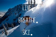 Live to ski- follow us www.helmetbandits.com like it, love it, pin it, share it!