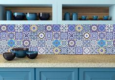 Ps adesivi murali in pvc per piastrelle per bagno e cucina
