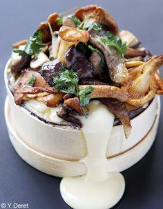 Mont-d'or aux champignons pour 4 personnes - Recettes Elle à Table - Elle à Table