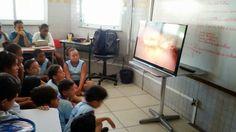 Blog do Inayá: Professora Samantha trabalha o tema Planeta Terra com a Turma 507